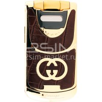 Gucci G-6 Honey Leather Gold